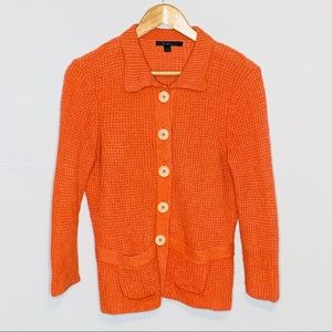 Boden | Sassy Fit Cardigan Waffle Knit Button Up